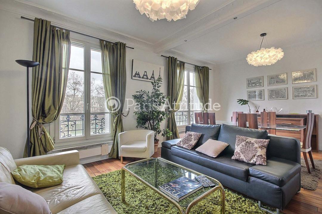 Rent apartment in paris 75015 60m eiffel tower champs for Apartment in eiffel tower