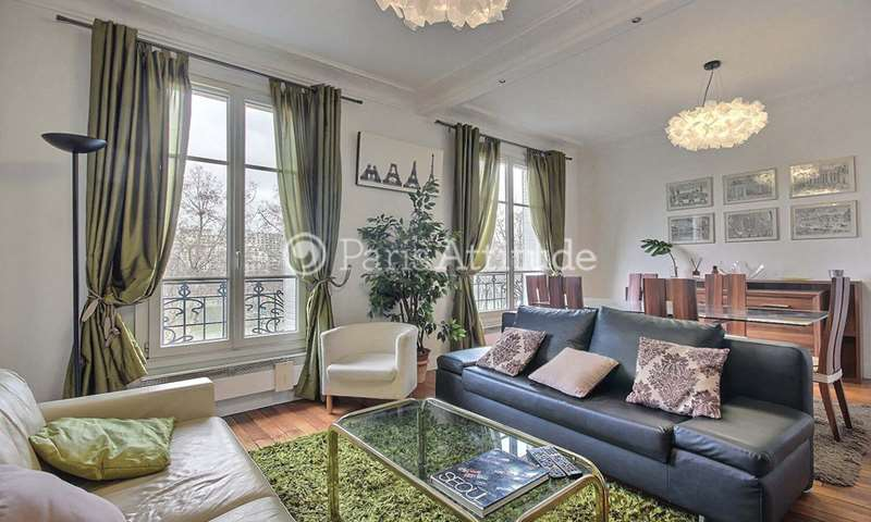 Location Appartement 1 Chambre 55m² quai de Grenelle, 15 Paris