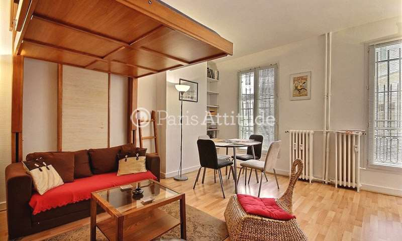Rent Apartment Studio 27m² rue Condorcet, 75009 Paris