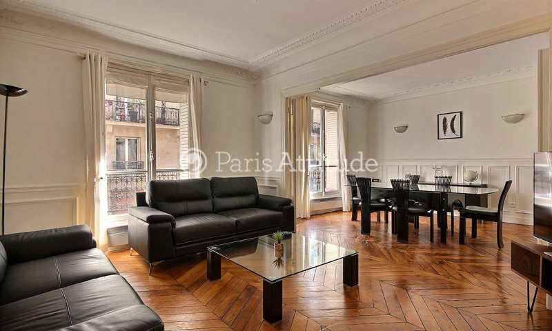Location Appartement 3 Chambres 115m² rue Barye, 17 Paris