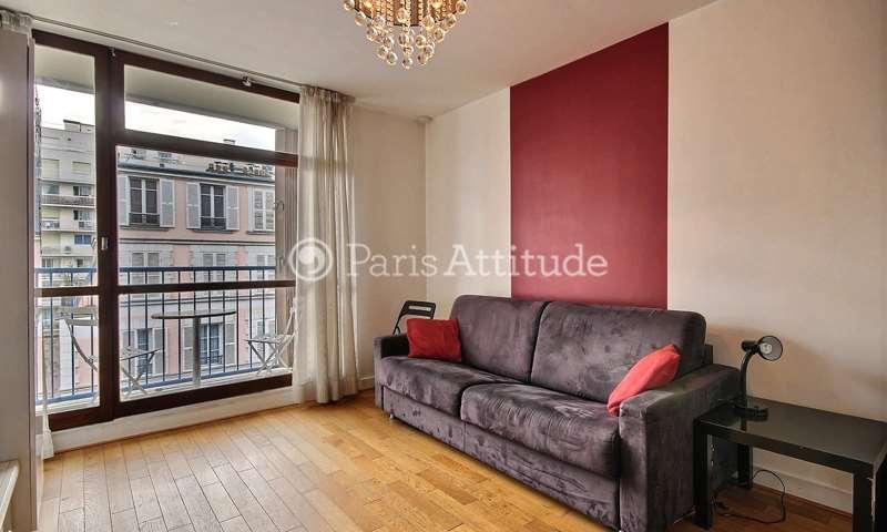 Rent Apartment 1 Bedroom 38m² rue Violet, 75015 Paris