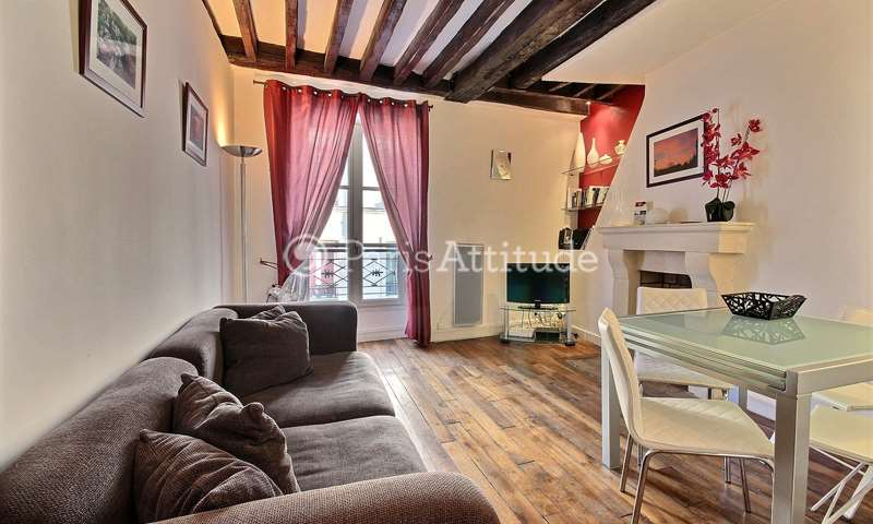 Rent Apartment 1 Bedroom 36m² rue des ecouffes, 75004 Paris