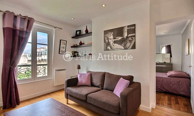 Rent Apartment 1 Bedroom 30m² rue Petit, 19 Paris