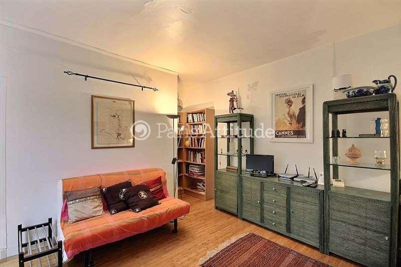 Rent apartment in paris 75020 40m gambetta ref 4043 for Living room 75020