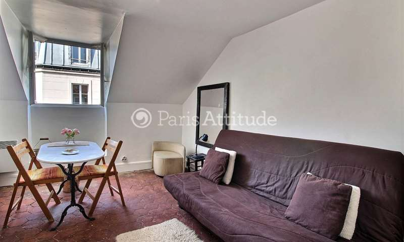 Rent Apartment Studio 15m² rue des Batignolles, 17 Paris