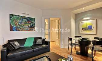 Rent Apartment 1 Bedroom 40m² rue de Chaillot, 16 Paris