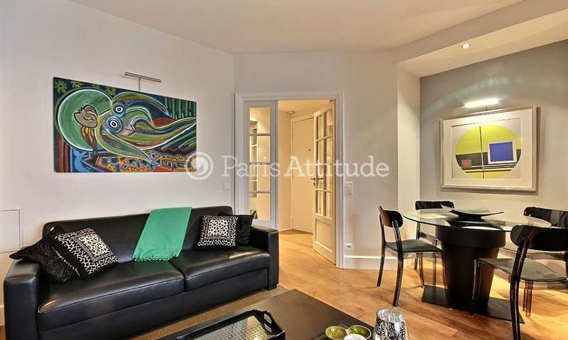 Rent Apartment 1 Bedroom 40m² rue de Chaillot, 16 Paris