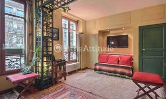 Rent Apartment Studio 27m² boulevard Morland, 4 Paris