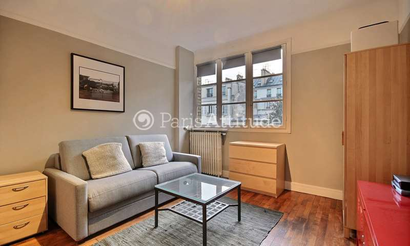 Rent Apartment Studio 24m² rue des Apennins, 17 Paris