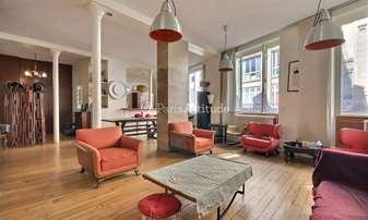 Rent Loft 2 Bedrooms 125m² rue Saint Fiacre, 2 Paris