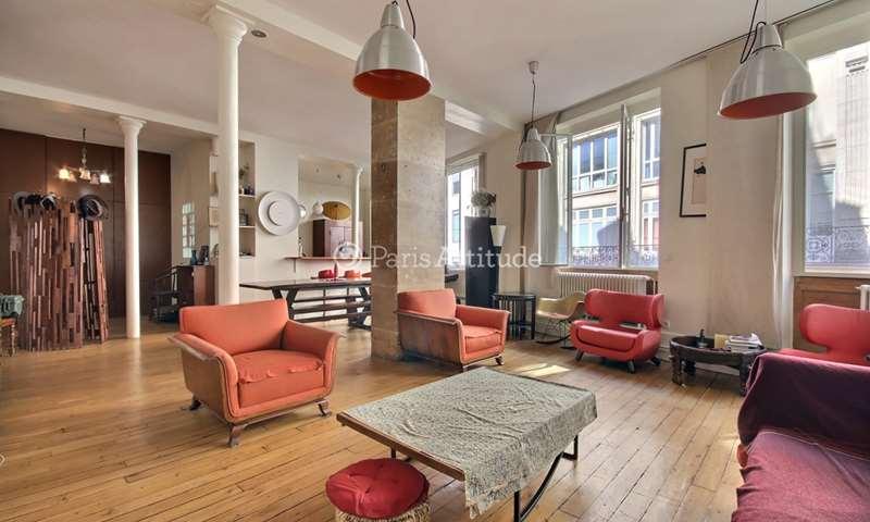 Aluguel Loft 2 quartos 125m² rue Saint Fiacre, 2 Paris