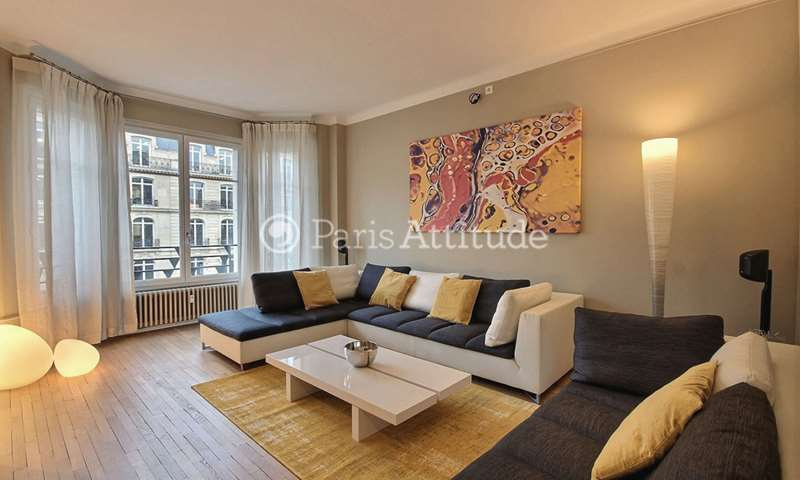 Rent Apartment 1 Bedroom 83m² avenue Hoche, 8 Paris