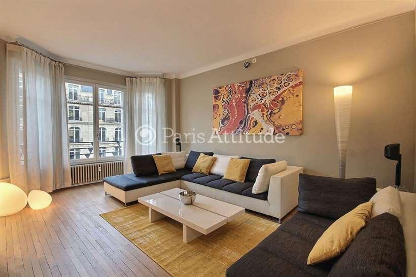 Louer Appartement meublé 1 Chambre 83m² avenue Hoche, 75008 Paris