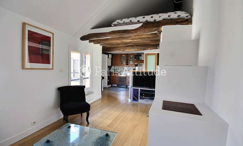 Rent Apartment Studio 25m² rue de Chabrol, 10 Paris