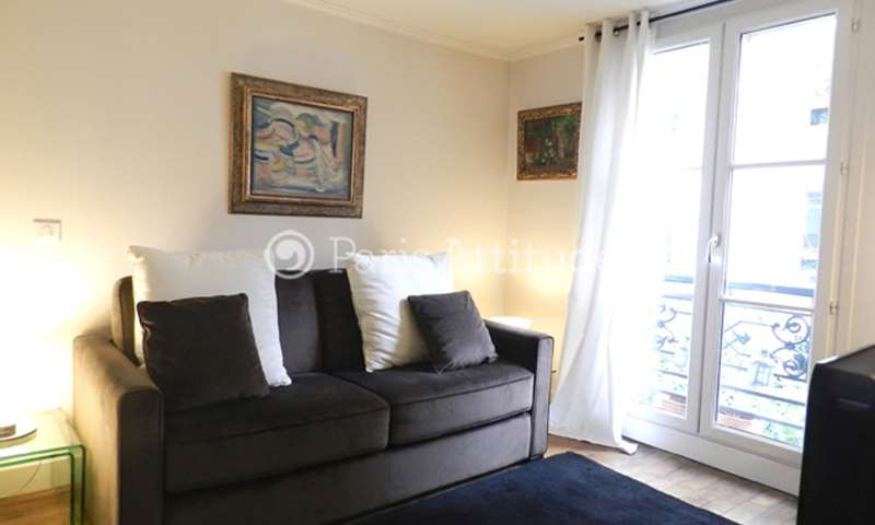 Rent Apartment Studio 23m² rue Guy de La Brosse, 5 Paris