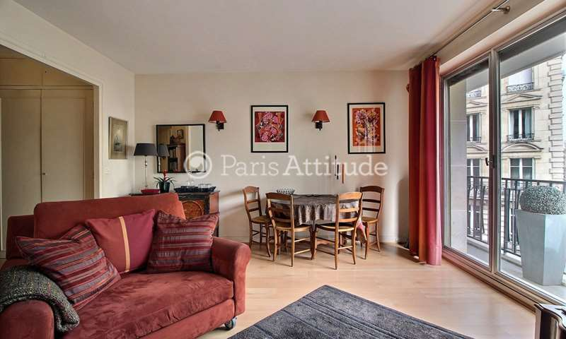 Rent Apartment 1 Bedroom 45m² rue de la Pompe, 75016 Paris