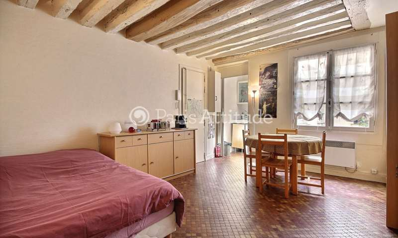 Rent Apartment Studio 22m² rue au Maire, 75003 Paris