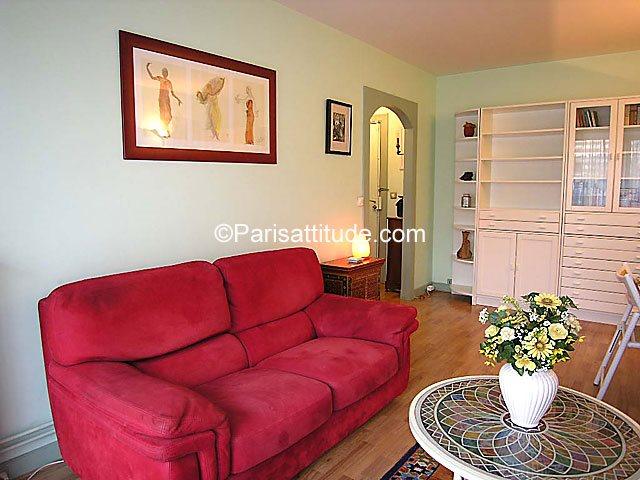 Rent furnished Apartment 1 Bedroom 52m² avenue du General Leclerc, 75014 Paris