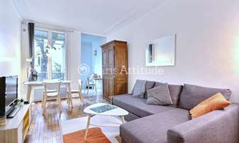 Aluguel Apartamento 1 quarto 37m² rue des Batignolles, 17 Paris