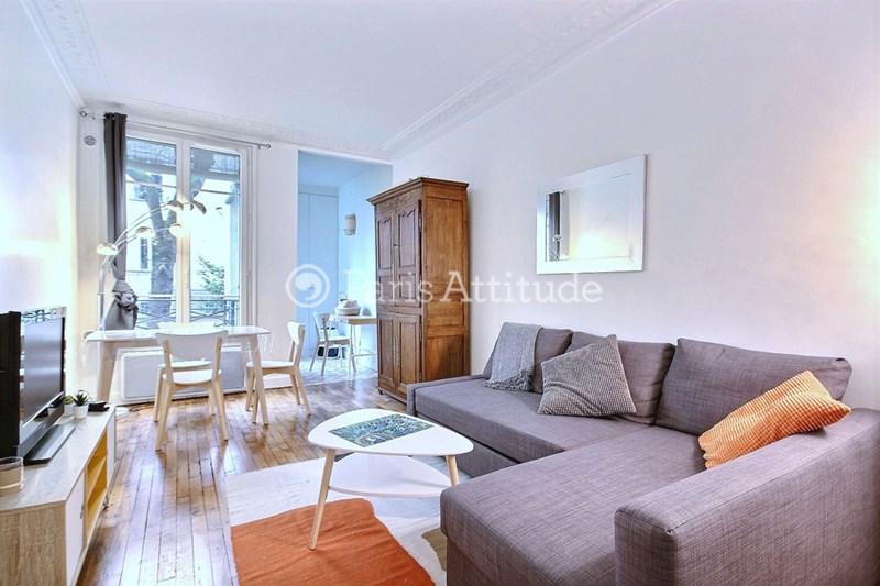 Rent Apartment 1 Bedroom 37m² rue des Batignolles, 75017 Paris