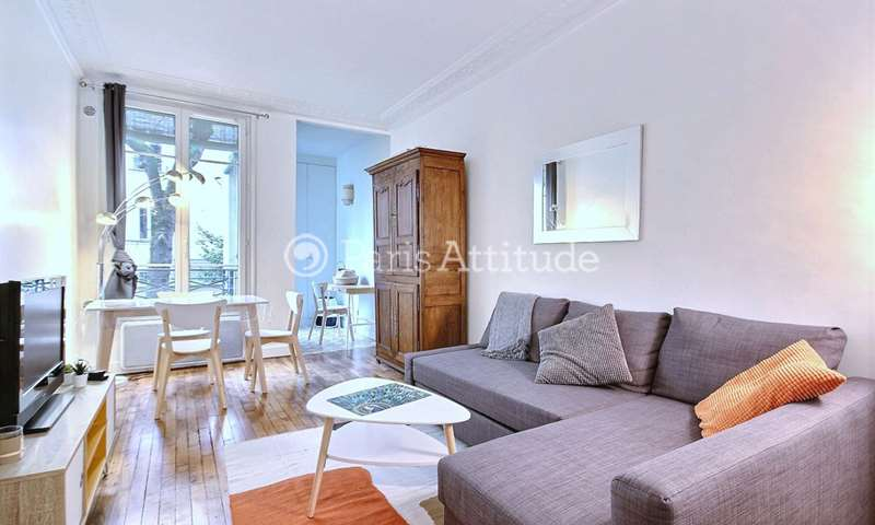 Rent Apartment 1 Bedroom 37m² rue des Batignolles, 75017 Paris
