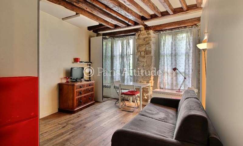 Rent Apartment Studio 21m² rue des Archives, 75004 Paris
