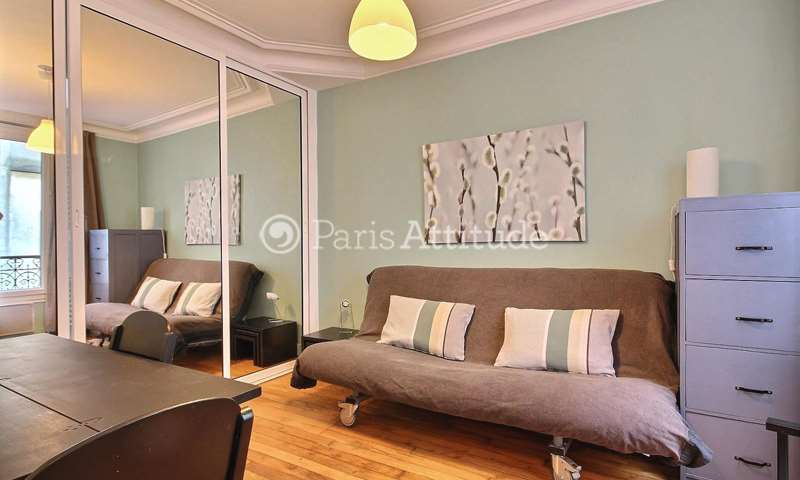 Rent Apartment Studio 19m² rue Charles Divry, 75014 Paris