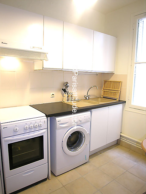 Louer un appartement paris 75005 40m place monge - Machine a laver cuisine ...