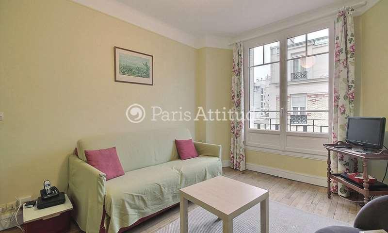Rent Apartment 1 Bedroom 45m² rue de l Encheval, 19 Paris
