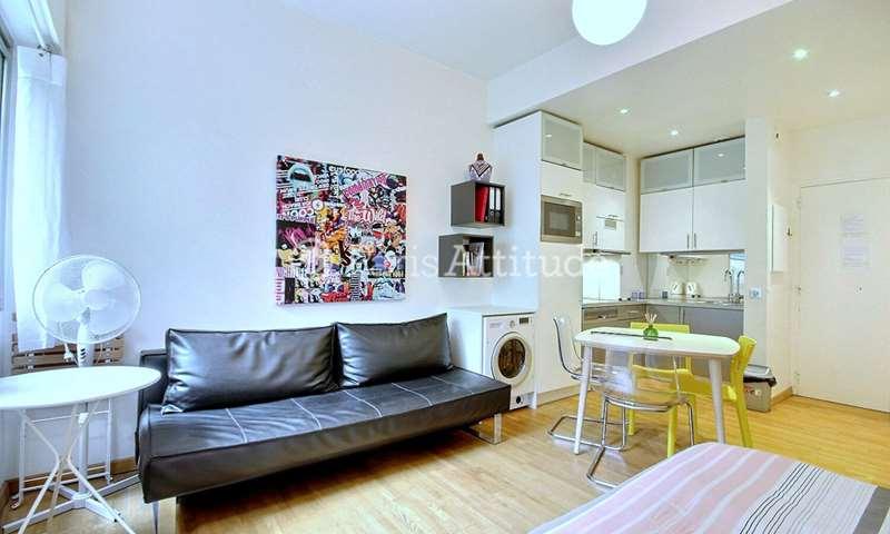 Aluguel Apartamento Quitinete 25m² rue Geoffroy L Angevin, 4 Paris