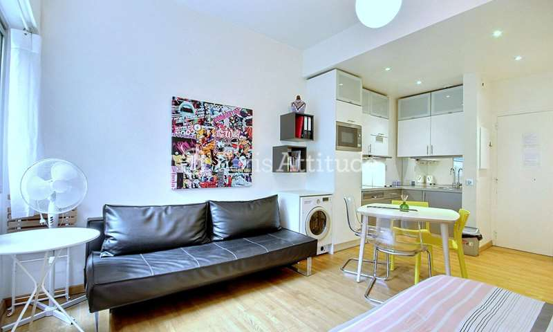 Location Appartement Studio 25m² rue Geoffroy L Angevin, 75004 Paris