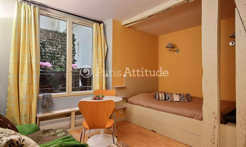 Rent Apartment Studio 18m² rue de la Cossonnerie, 1 Paris