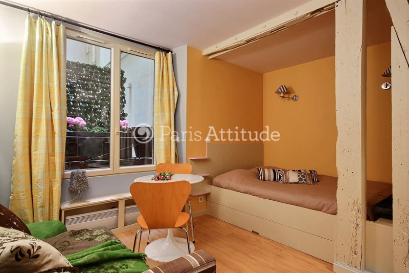 Aluguel Apartamento mobiliado Quitinete 18m² rue de la Cossonnerie, 75001 Paris