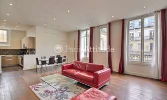 Rent Apartment 2 Bedrooms 80m² rue de Monceau, 8 Paris