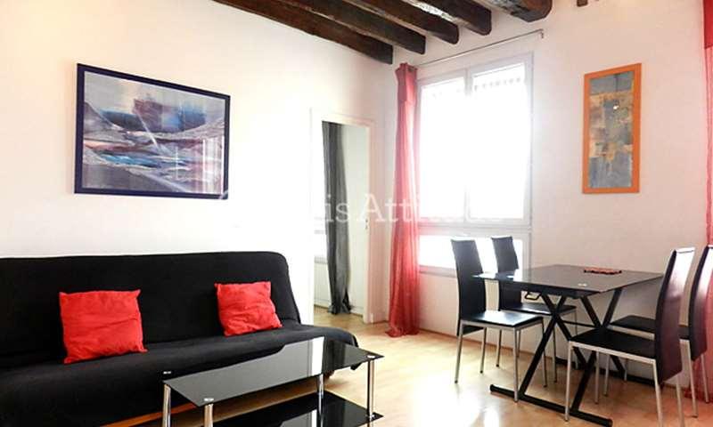 Location Triplex 2 Chambres 52m² rue Beauregard, 2 Paris
