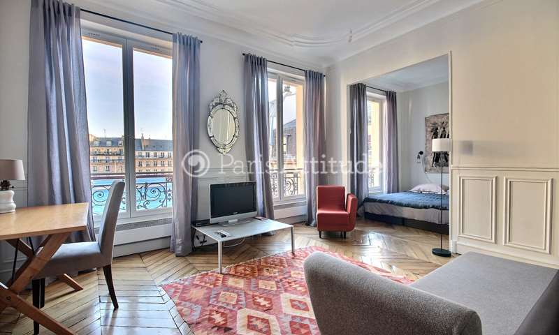 Rent Apartment 1 Bedroom 37m² rue Beranger, 75003 Paris