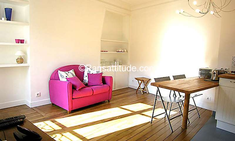 Rent Duplex 2 Bedrooms 62m² Villa Michel-Ange, 16 Paris