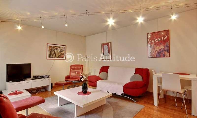 Rent Apartment 1 Bedroom 54m² rue de la Chine, 20 Paris