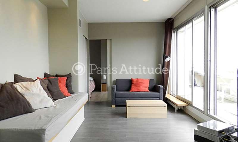 Rent Apartment 1 Bedroom 40m² rue La Fayette, 75010 Paris
