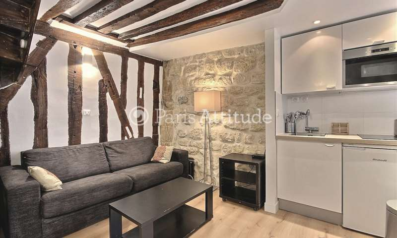 Rent Duplex 1 Bedroom 28m² rue Sauval, 75001 Paris