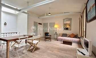 Rent Apartment 2 Bedrooms 80m² rue du Faubourg Du Temple, 10 Paris