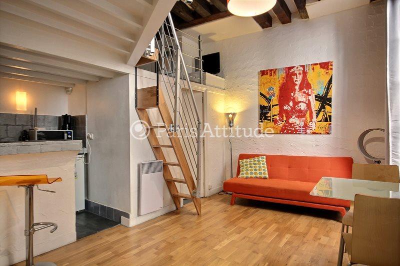 Louer Appartement meublé Studio 20m² rue de Buci, 75006 Paris