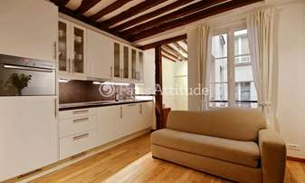 Rent Apartment 1 Bedroom 32m² rue Saint Honore, 1 Paris