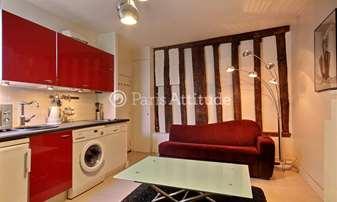 Location Appartement 1 Chambre 27m² rue Saint Martin, 4 Paris