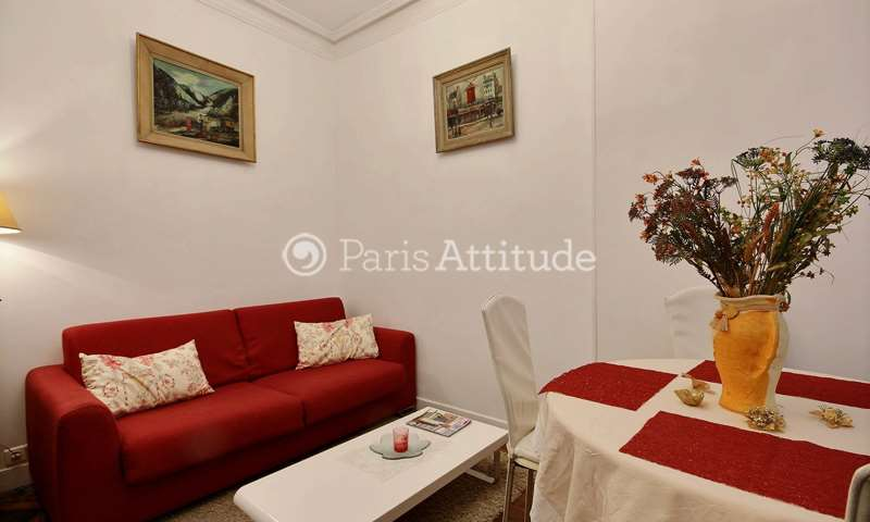 Rent Apartment 1 Bedroom 32m² rue Damremont, 75018 Paris