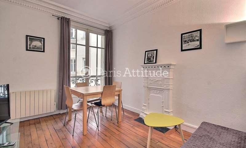 Location Appartement 1 Chambre 40m² rue François Millet, 16 Paris