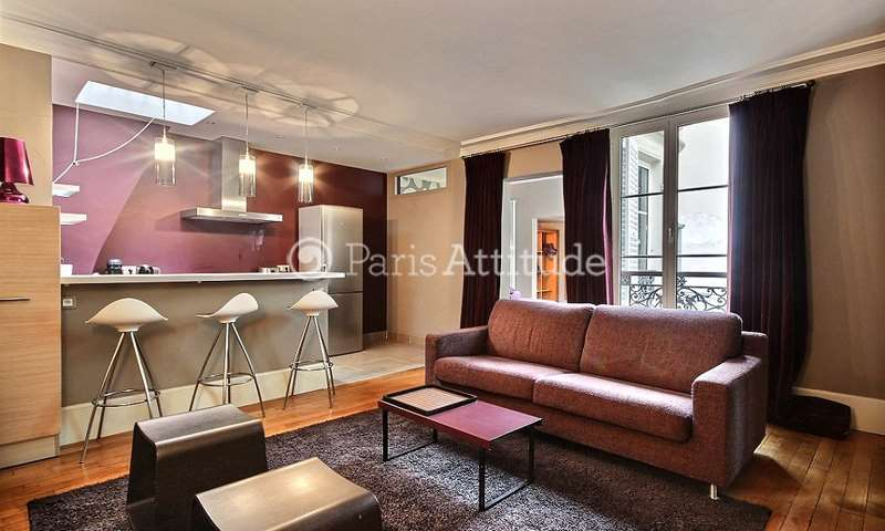 Rent Apartment 1 Bedroom 44m² rue de l eglise, 92200 Neuilly sur Seine