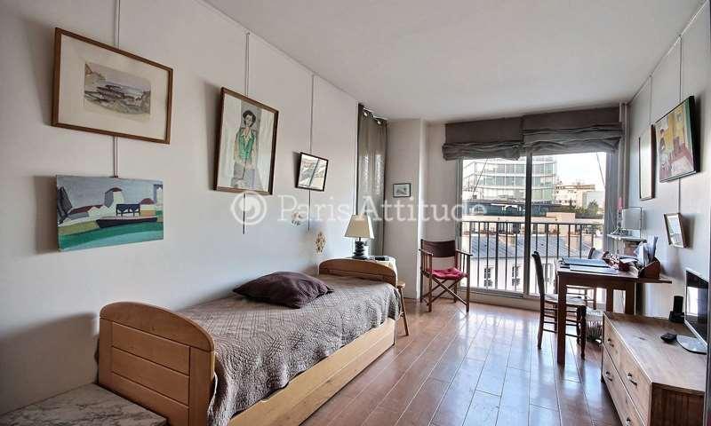 Rent Apartment Studio 25m² rue Rouelle, 15 Paris