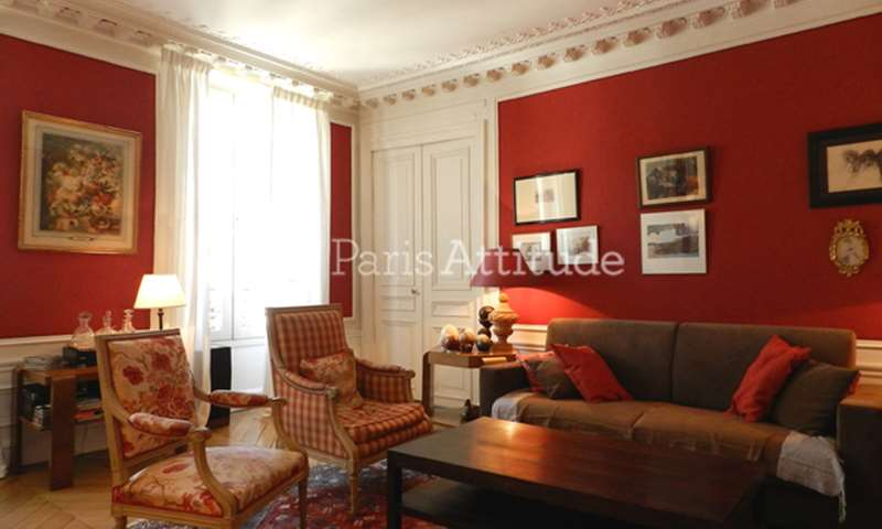 Rent Apartment 3 Bedrooms 150m² rue de Seine, 6 Paris