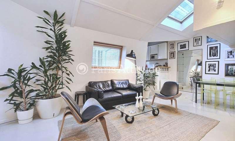 Location Loft 2 Chambres 70m² passage Charles Dallery, 11 Paris